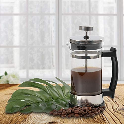 Borosilicate Glass French Press Coffee Maker Coffee Pot With Plunger Kitchen French Coffee Press Tea Maker