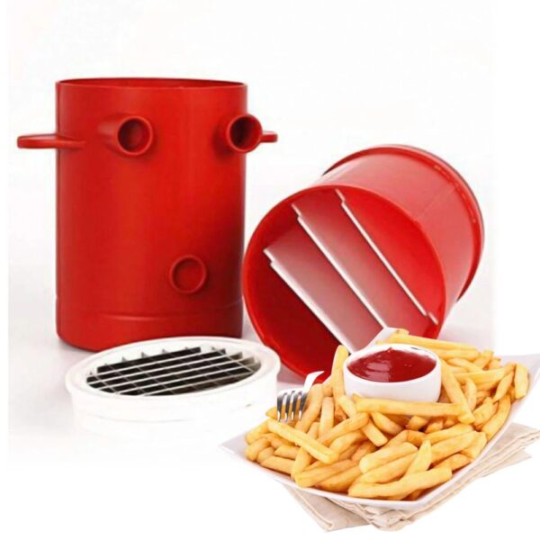 Jiffy Fries Potatoes Maker Potato Slicers Convenient Tool For Cutting Potato Chips
