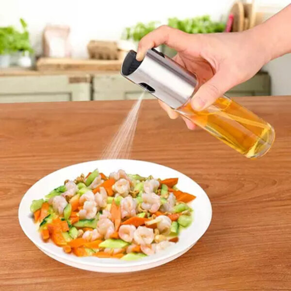 Hot sale glass empty bottle oil spray for kitchen tools cooking BBQ