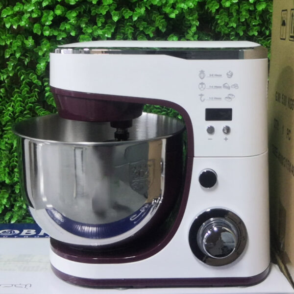 1000W/1200W 5L China Professional Home Kitchen Mini Electric Cake Bread Dough Stand Mixer With Rotating Bowl