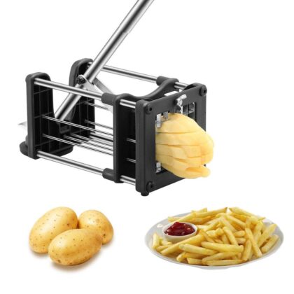 Household Kitchen Tool Manual French Fry Potato Cutter