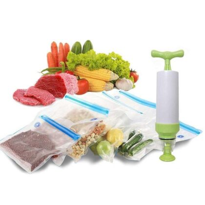 Household Manual Vacuum Sealer Sealing Food Vacuum Sealer Kitchen Food Fruit Packaging Machine Best Vacuum Sealer