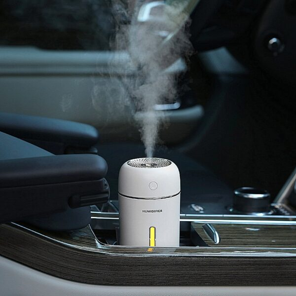 Car Aromatherapy Diffuser Air Humidifier Essential Oil Diffuser 280ml Portable USB Mini Ultrasonic Aroma Humidifier For Home