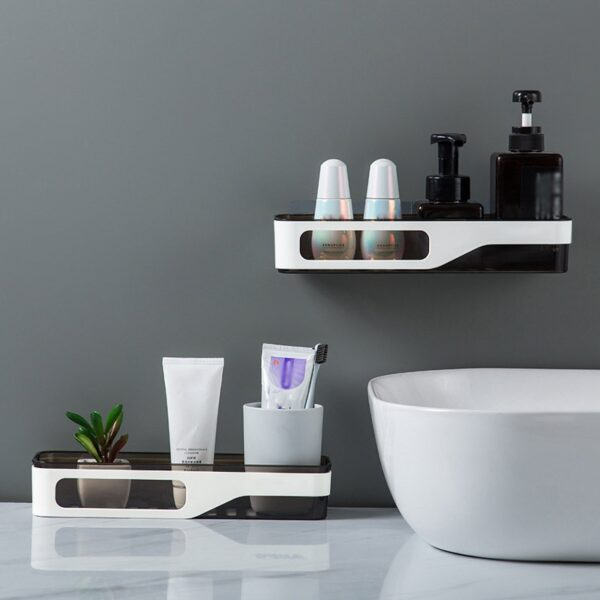 Shower Bathroom Shelf Shampoo Shower Holder Shelf Containers And Complements For Kitchen Rack Organizer Wall Mounted Type