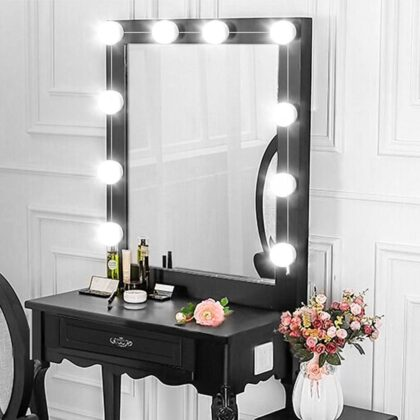 USB Vanity Lights Bathroom Led Mirror Light For Makeup Dressing Table Vanity Lights 8W Bulbs 2835 SMD Adjustable Brightness