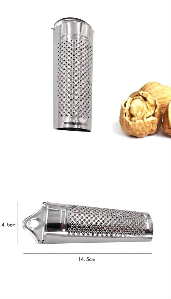 Stainless Steel Kitchen Nutmeg and Spice Grater fruit &vegetable tools