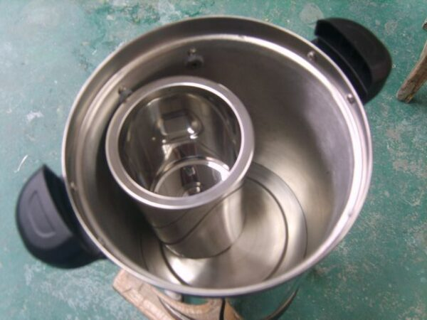 kitchen appliance 2500W 2 taps commercial stainless steel electric boiler