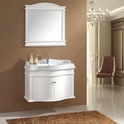 white vanity cabinet new style wood washbasin cabinet bathroom cabinet oak furniture buying agent wholesale price