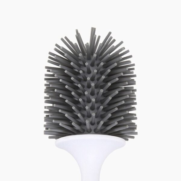 Toilet Brush Rubber Head Holder Cleaning Brush For Toilet Wall Hanging Household Floor Cleaning Bathroom Accessories