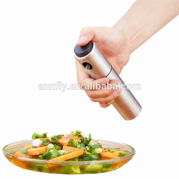 Portable Stainless Steel Olive Oil Sprayer Pump Bottle BBQ Barbecue Accessories Kitchen Cooking Tools