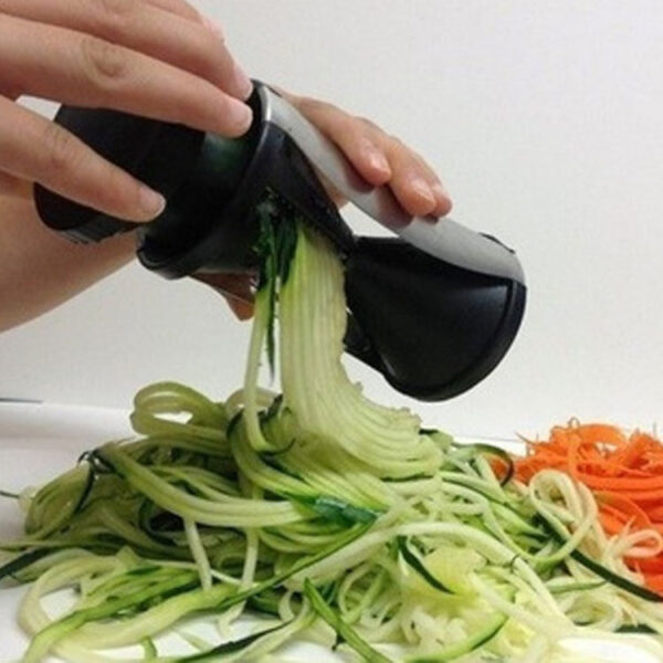 Spaghetti Maker Cutter Slicer Kitchen Tool Spiral Funnel Vegetable Hot