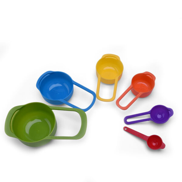 kitchen tools sturdy and durable colourful cup