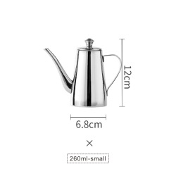hot selling Stainless Steel Kitchen Tools storage & jar Oil Bottle Olive Metal Oil Pot