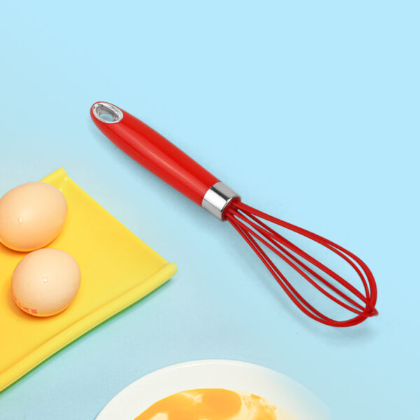 BPA Free Kitchen Egg Tools Mini Manual Mixer Blender Stirring Plastic Hand Egg Whisk Beater