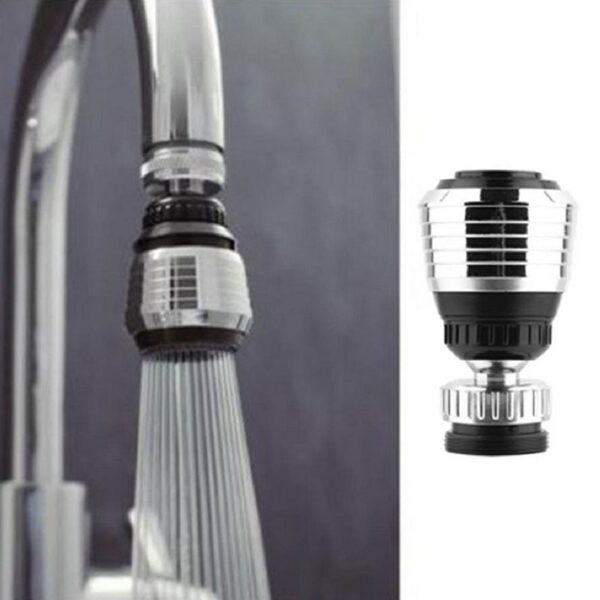 360 Rotate Swivel Faucet Nozzle Water Filter Adapter Water Faucet Nozzle Adapter Tap Diffuser Bathroom Kitchen Accessories