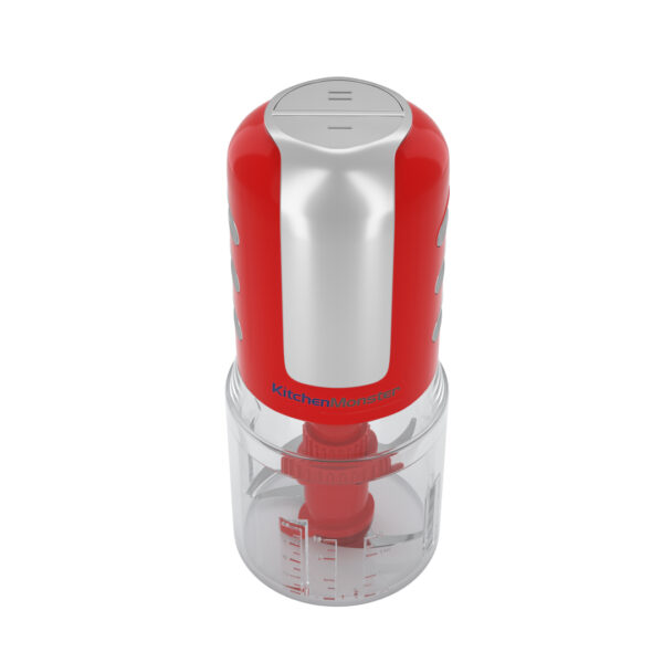 China supplier red electric food chopper at home new kitchen mixer 500W