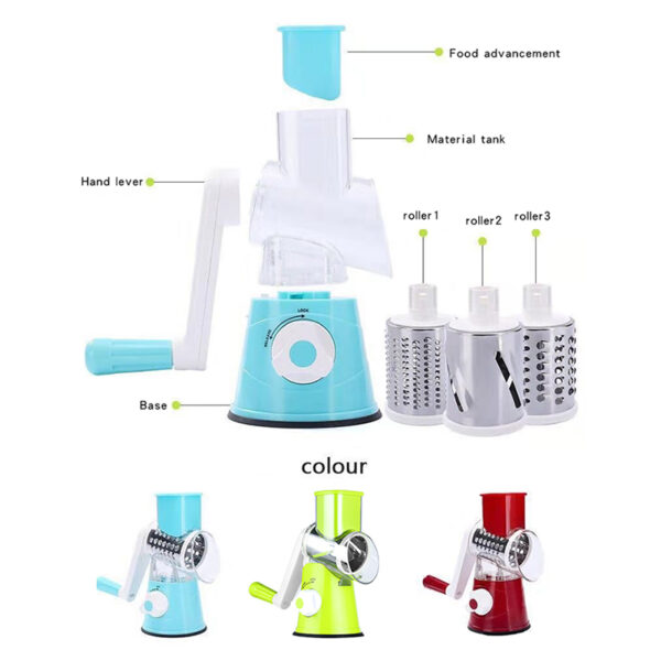 Kitchen Manual Grater Potato Vegetable Cheese Grater