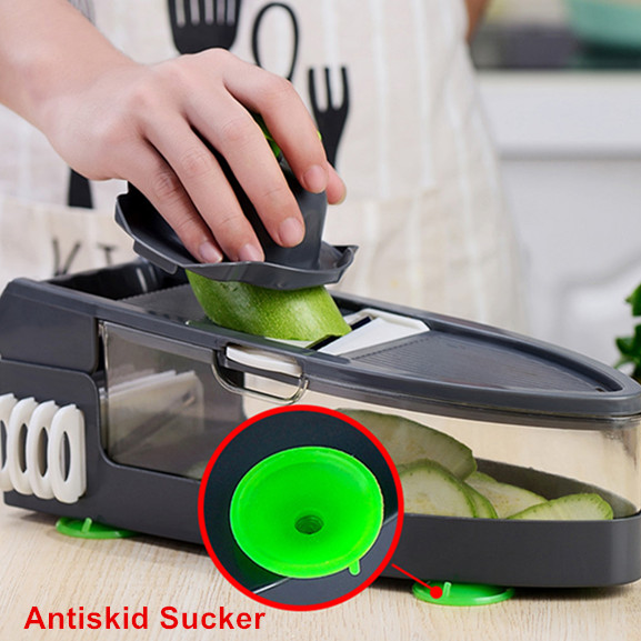 Amazon hot sell kitchen accessories kitchen tools Manual multipurpose vegetable cutter slicer vegetable chopper