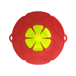 Wholesale BPA free Multi-Function Kitchen Tool Silicone Spill Stopper Pot Cover Lid Boil Over Safeguard