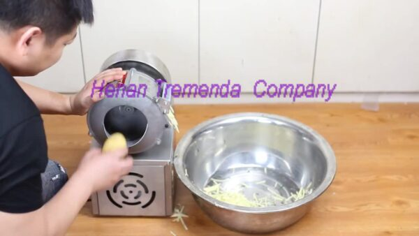 carrot slicer potato machine electricity and manual kitchen tool